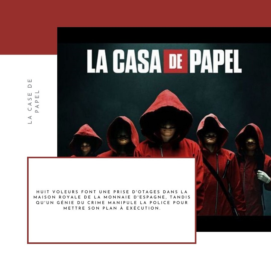 casa de papel série confinement