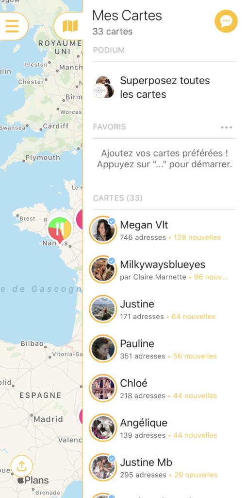 applis smartphone lifestyle mapstr troyes